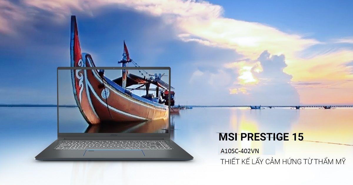 MSI Prestige 15 A10SC-402VN