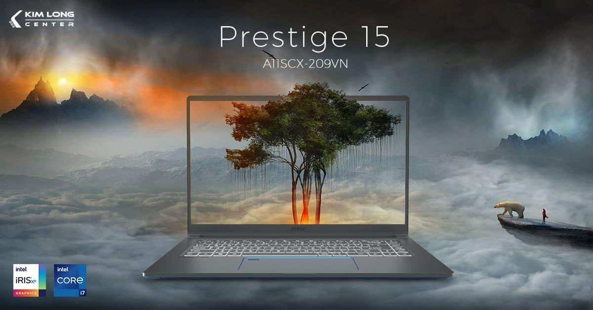 laptop MSI Prestige 15 A11SCX-209VN