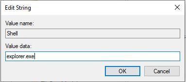 Sửa giá trị file Shell