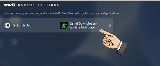 Bước 4: Add game vào AMD