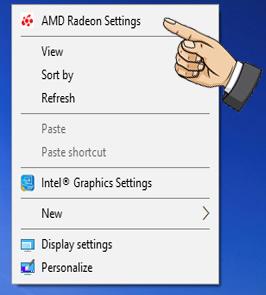Bước 1: Add game vào AMD