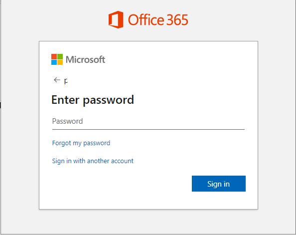 Nhập mật khẩu của email
