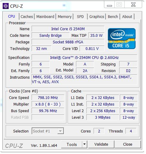 Tab CPU