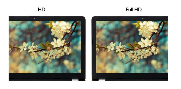 Sự khác biệt giữa màn hình HD và FHD là gì?