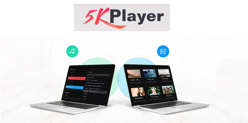 5KPlayer- phần mềm nghe nhạc hay cho Win 10
