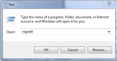 Mở Registry Editor