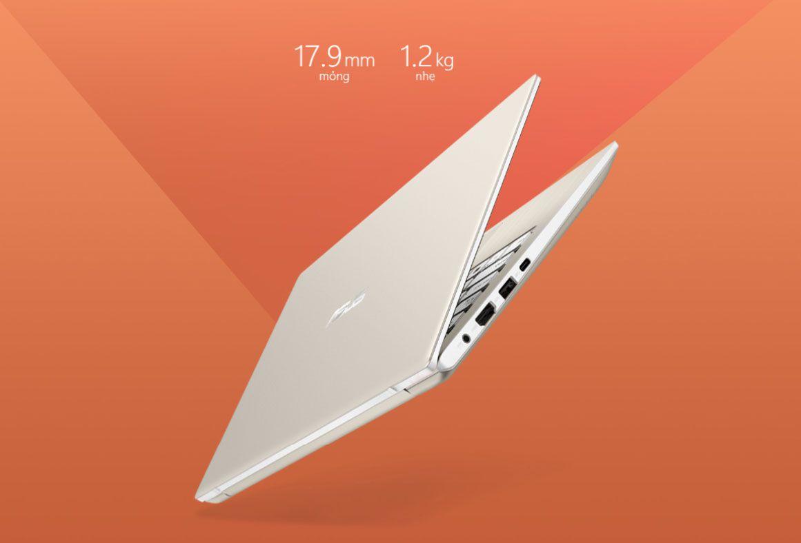 Asus Vivobook s13 S330FA sở hữu thiết kế nhỏ gọn