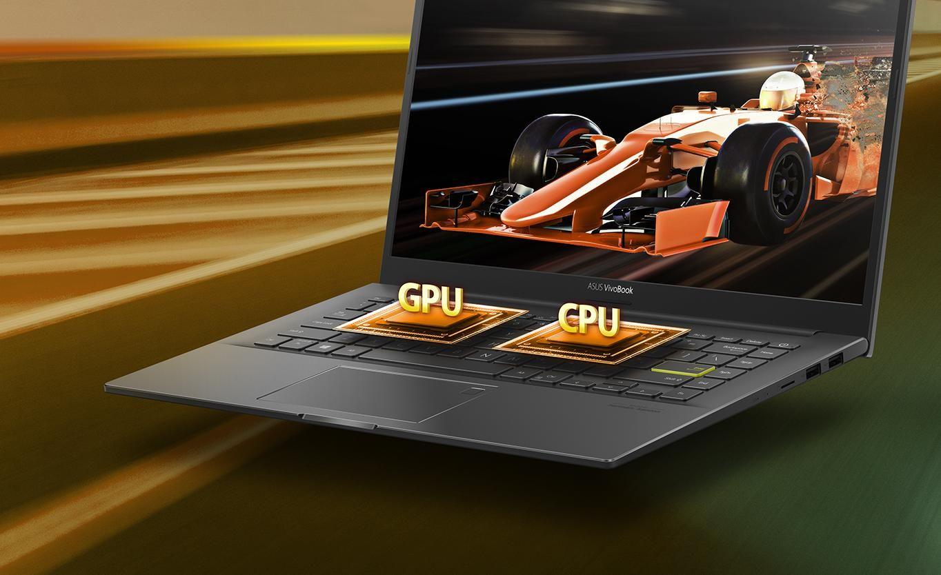laptop asus vivobook sở hữu hiệu năng khủng