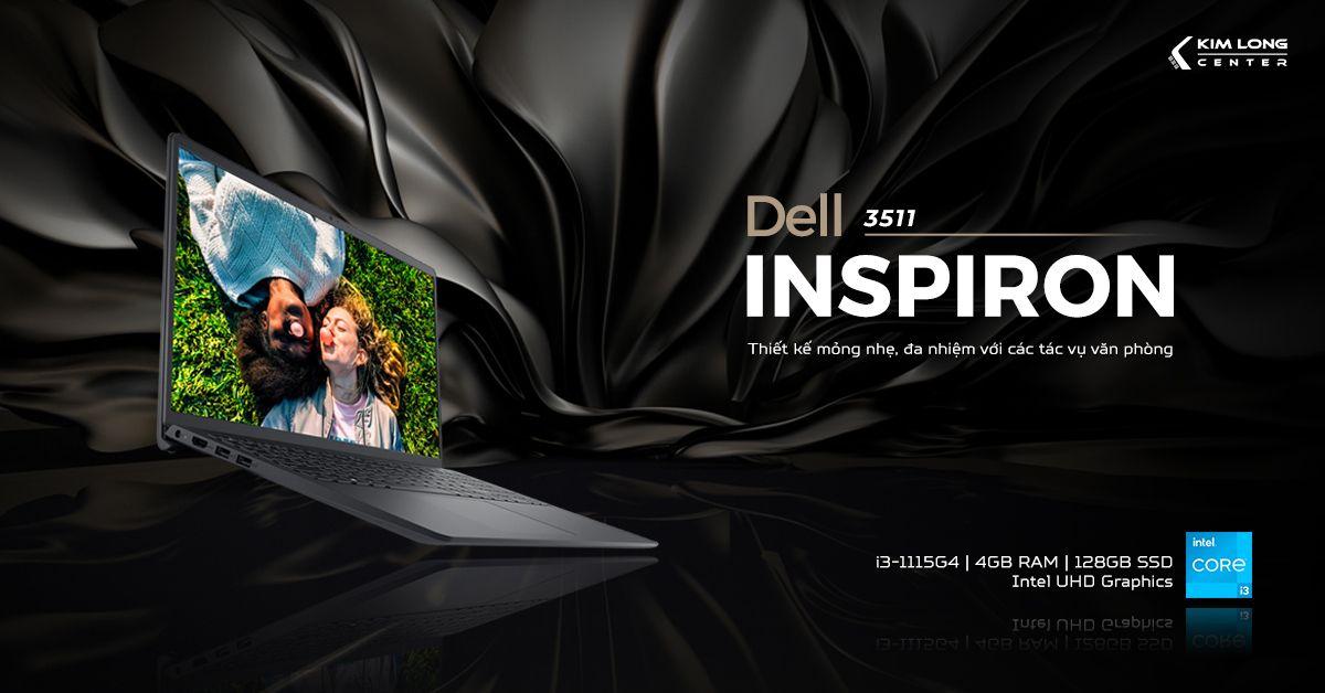 laptop- Dell Inspiron 3511