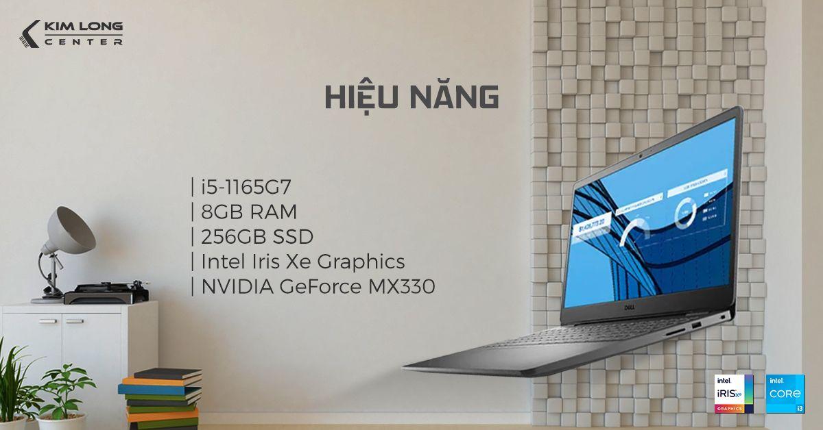 Vostro 3500 7G3982 sở hữu chip Intel thế hệ 11 mới nhất