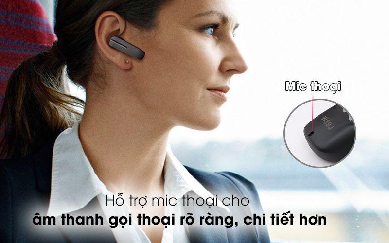 hỗ trợ mic thoại cho âm thanh nghe gọi rõ ràng