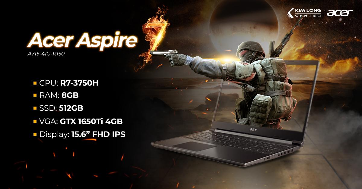 laptop-Acer Aspire 7 A715-41G-R150 (NH.Q8SSV.004)