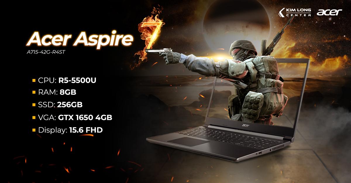 laptop-Acer Aspire 7 A715-42G-R4ST (NH.QAYSV.004)