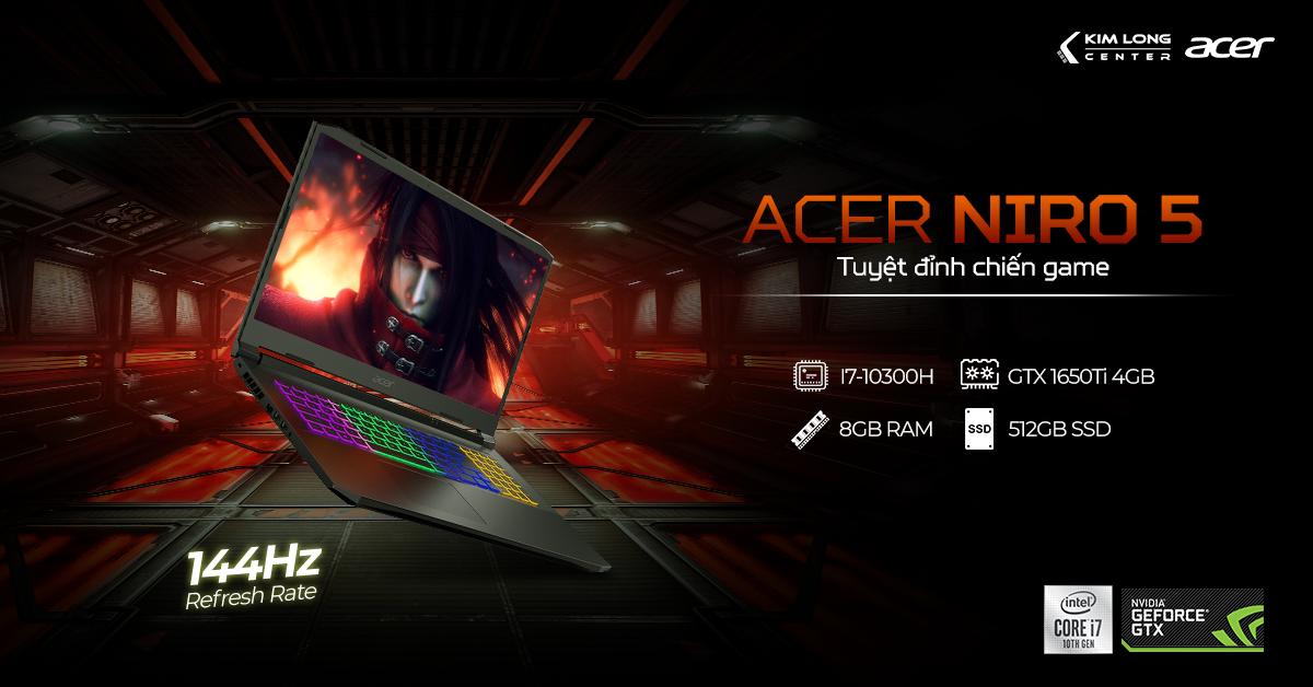 Laptop ACER NITRO 5 AN515-55-77P9 (NH.Q7NSV.003)