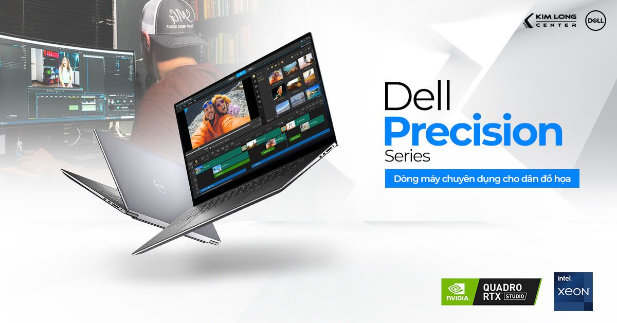 Laptop Dell Precision thiết kế dành cho dân đồ họa