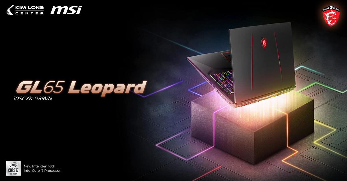 Laptop MSI GL65 Leopard