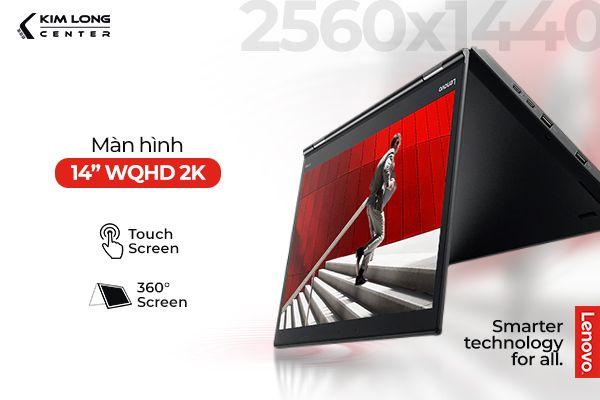 Màn hình WQHD 2K mang lại trải nghiệm chân thật, sống động, sắc nét