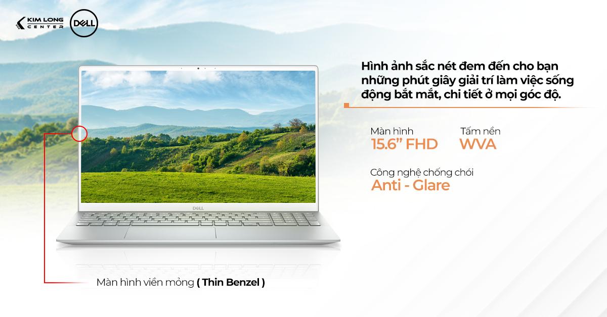Dell Inspiron N5502 có màn hình viền mỏng