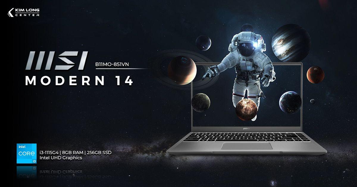 laptop-MSI Modern 14 B11MO-851VN