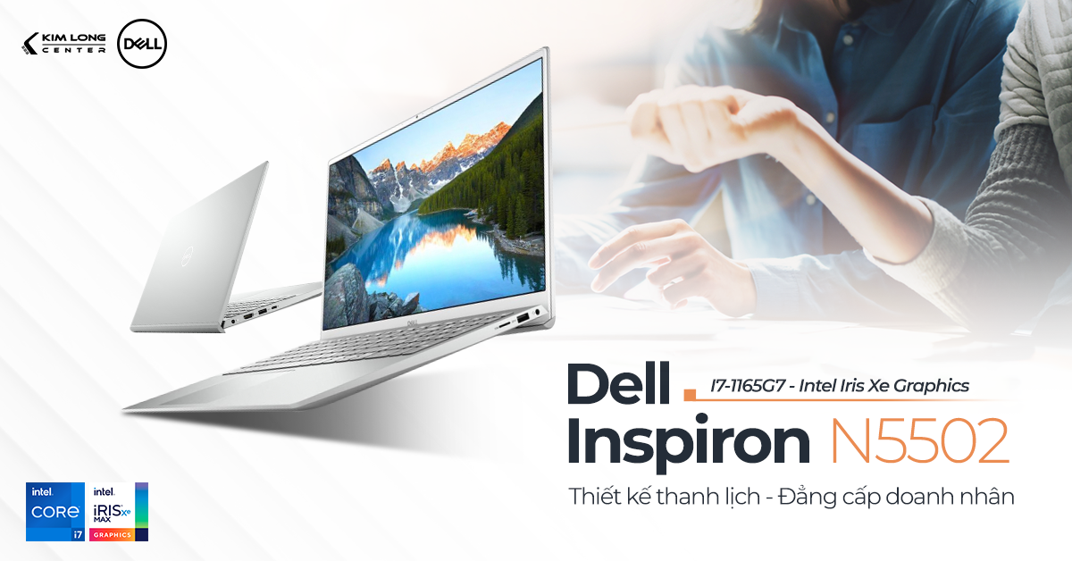 Dell Inspiron 5502core i7 thế hệ 11