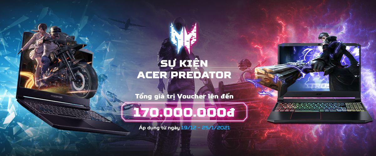 sự kiện acer predator 2020