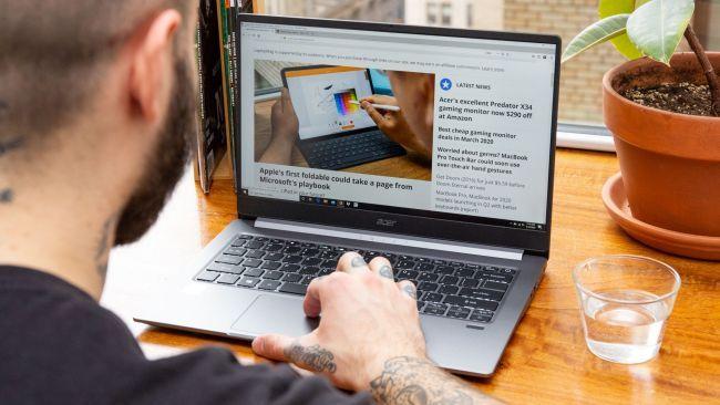 Cấu hình laptop Acer Swift 3 (2020) đáp ứng tốt cho học tập, làm việc