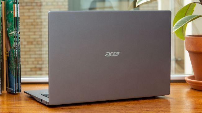 Acer Swift 3 2020 với Thiết kế vỏ nhôm nguyên khối