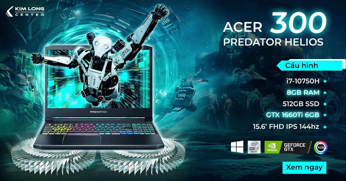 Laptop gaming Acer Predator Helios 300 PH315-53-770L