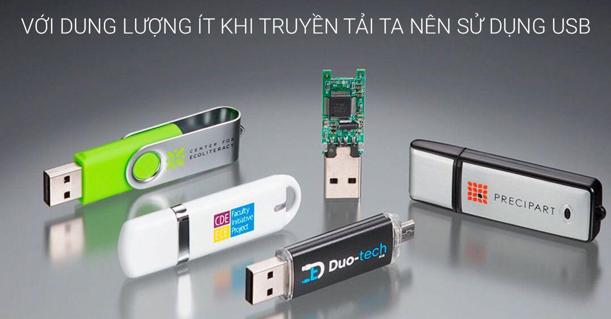 chuyển dữ liệu từ laptop cũ sang laptop mới bằng USB