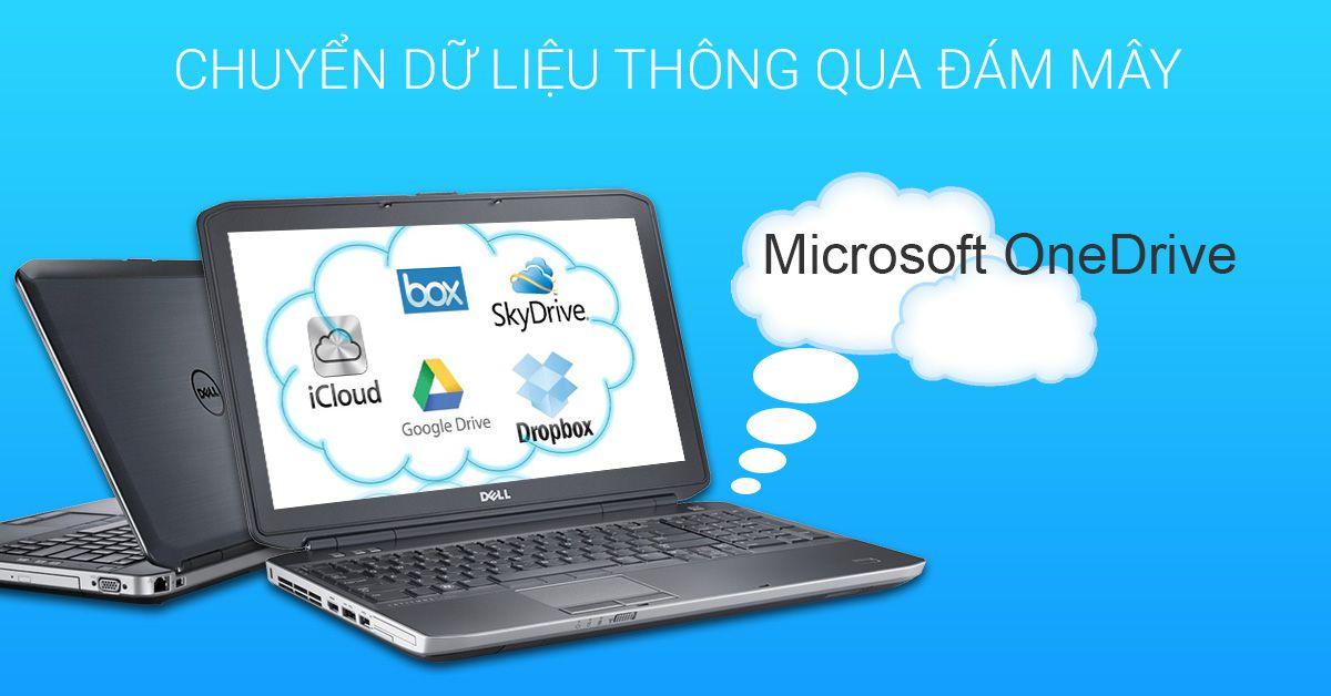 tải dữ liệu thông qua lưu trữ đám mây