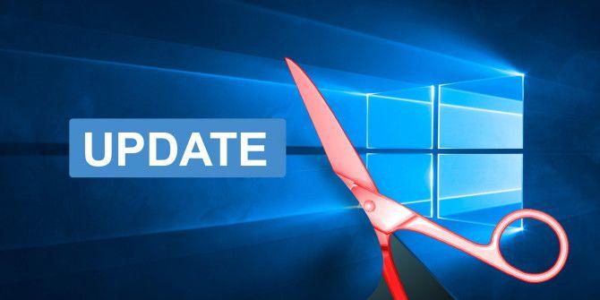 Cập nhật tự động Windows 10