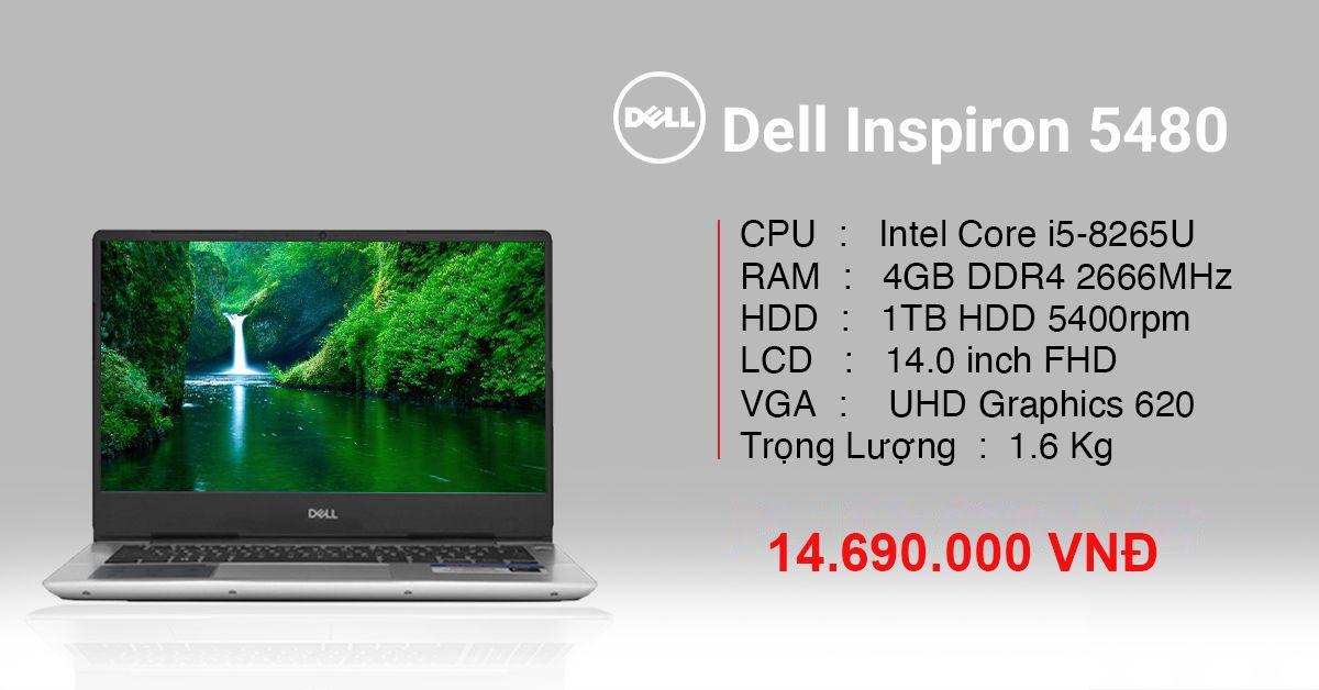 dell inspiron 5490 - laptop dell inspiron đáng mua 2020