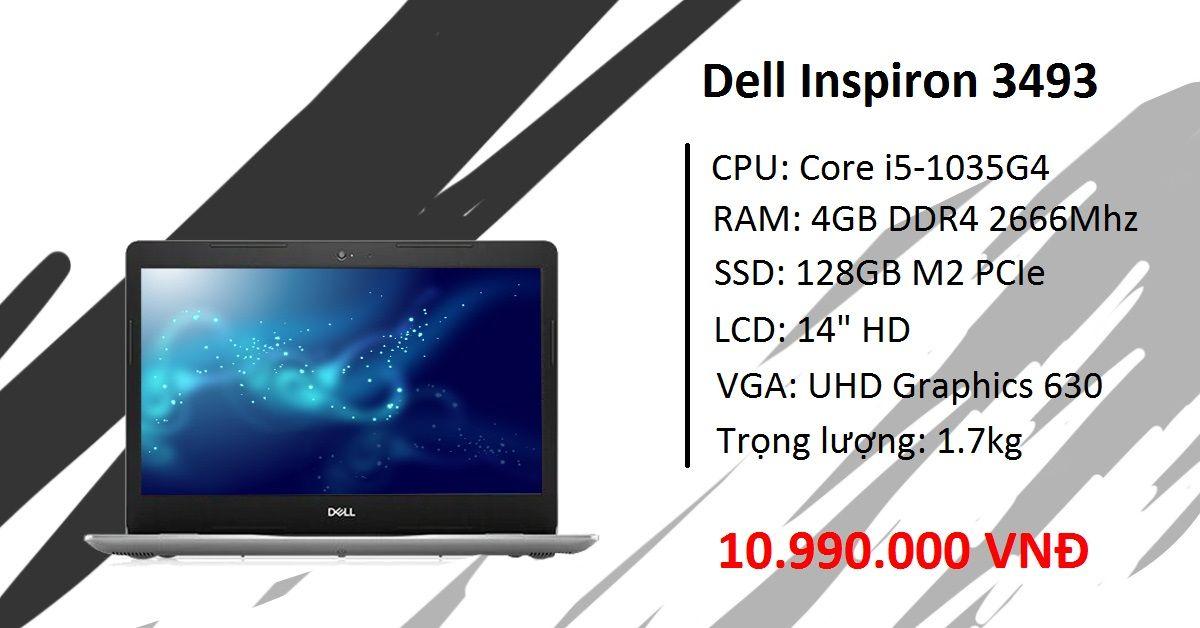 Laptop Dell Inspiron 3493 Core i5
