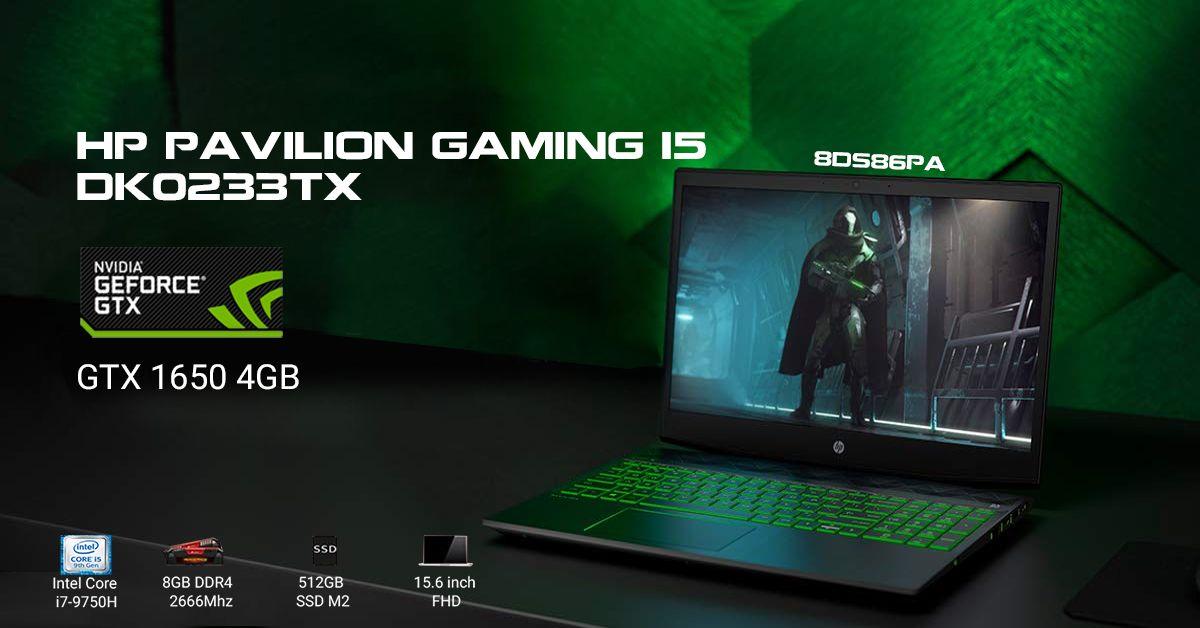 HP Pavilion Gaming 15-DK0233TX