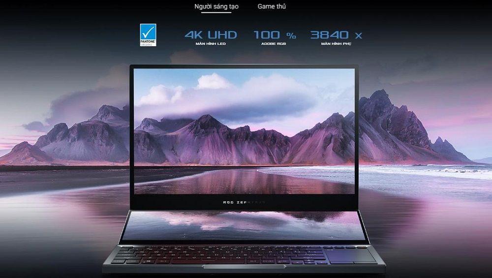 Tùy chọn cao nhất là màn hình 4K sắc nét