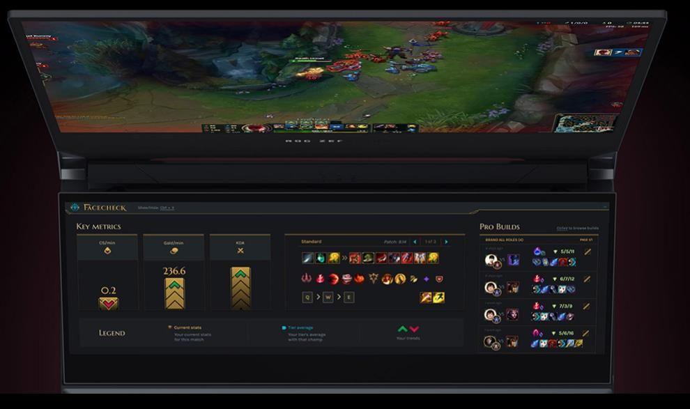 Kết hợp với màn hình chính để tinh chỉnh trong game