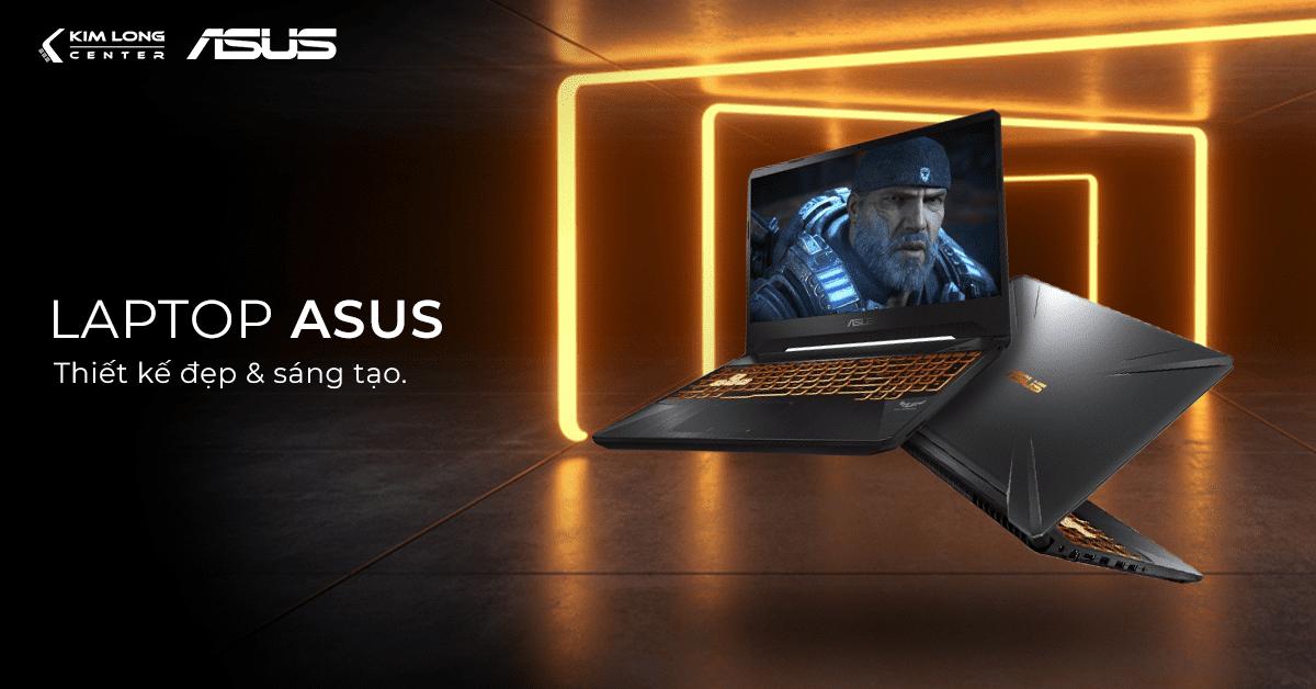Laptop Asus có thiết kế sáng tạo và chế độ bảo hành lên đến 2 năm