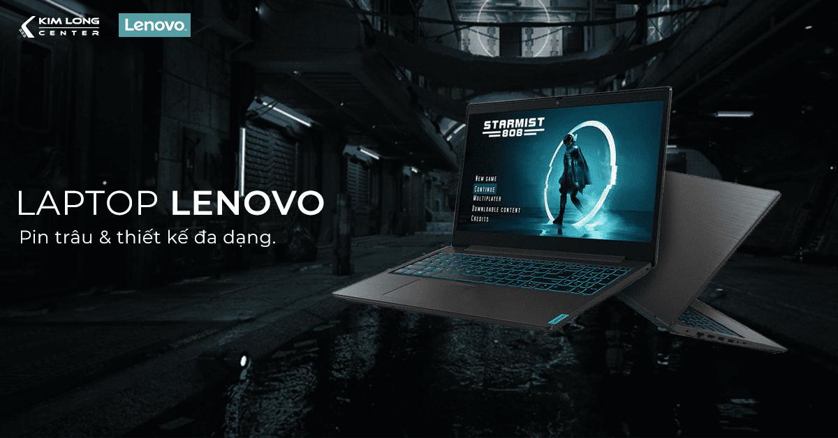Laptop Lenovo có độ bền cao và thời lượng pin dài