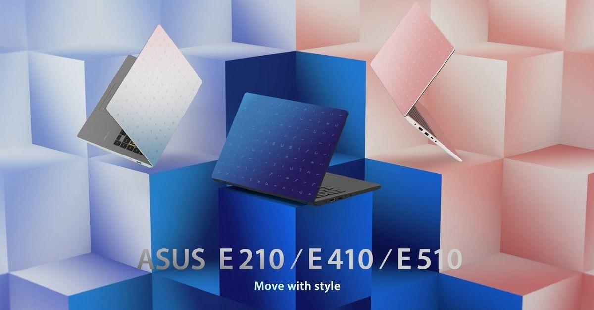 Asus công bố bộ 3 laptop E210, E410 cà E510 hướng đến người dùng sinh viên