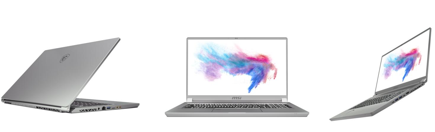 laptop MSI Creator 17 với màn hình Mini Led ấn tượng