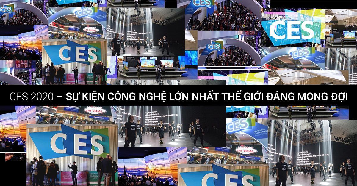 Sự kiện CES 2020 lớn nhất thế giới chuản bị khai mạc