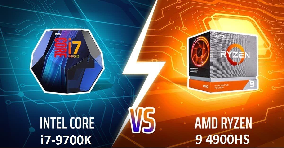 AMD Ryzen 9 4900HS Nhanh Hơn Intel Core i7-9700K
