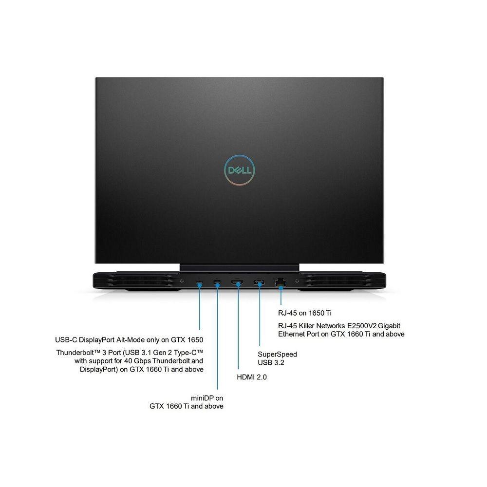 Dell G7 15 7500 cổng kết nối sau