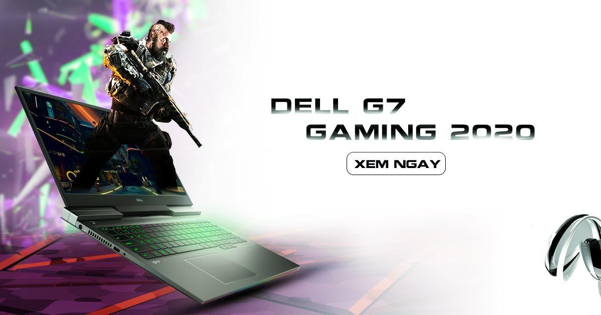 Dell Ra Mắt Laptop Gaming Dell G7 Mới - màn hình 4K OLED, I9-10980HK và RTX 2070 Max-Q
