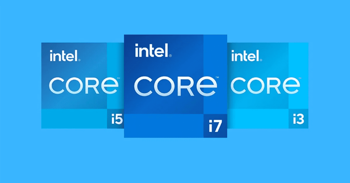 Các chip Tiger Lake bao gồm 3 dòng Core i3, i5 và i7