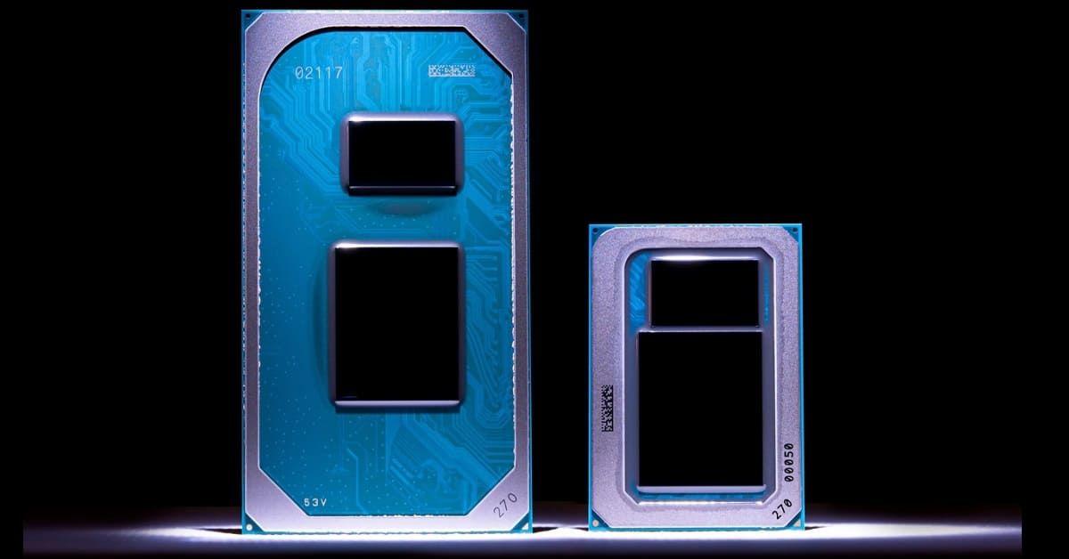 Tiger Lake chia ra 2 dòng chip là UP3 và UP4