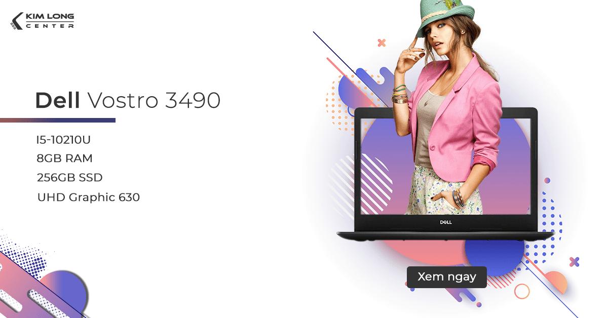 Dell Vostro 3490 cho sinh viên đồ họa