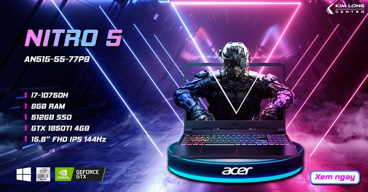 Acer Nitro 5 là dòng laptop gaming, độ họa hot trong năm nay