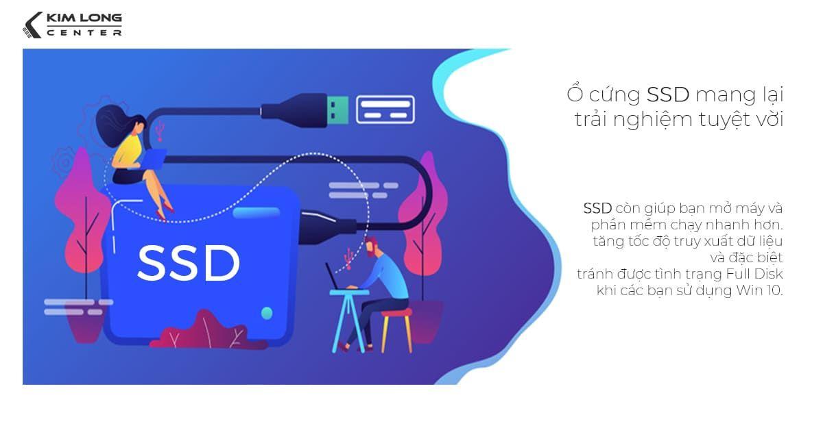 Laptop cho sinh viên lỹ thuật cần có HDD tối thiểu1GB và nên trang bị thêm ổ SSD