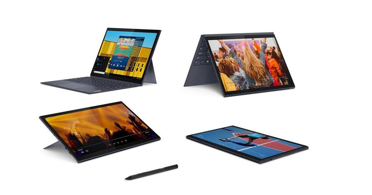 Lenovo ra mắt Laptop Yoya Duet 7i và Ideapad Duet 3i với bàn phím Blutooth có thể tháo rời